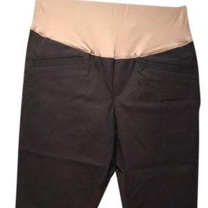 GAP Maternity Full Panel Crop Pants
